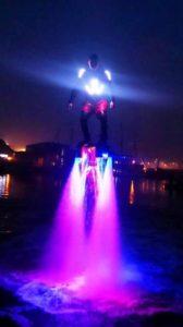 Flyboard de nuit