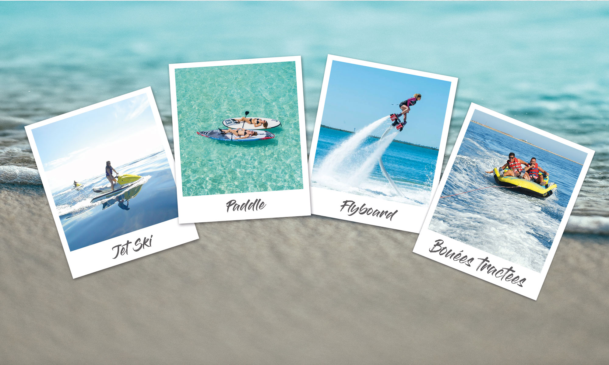Digue Sud - Water Sports